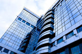 Yeni modern binasına olası görünümü — Stok fotoğraf