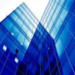 zukünftige Ansicht in modernen Neubau — Stockfoto