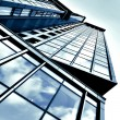 Angled business skyscraper — Stock Photo #1419446