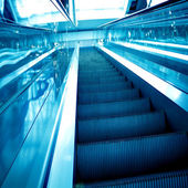 Abstract move escalator — Stock Photo