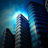 Formas de los rascacielos — Foto de Stock