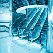 Futuristic escalator — Stock Photo #1421886