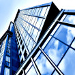 Angled business skyscraper — Stock Photo #1428476