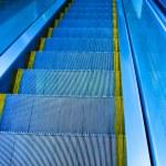 Move escalator in modern office centre — Stock Photo