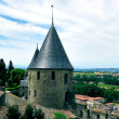 Carcassonne castle, France - Stock Photo