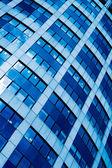 Cosecha azul resumen de oficina moderna — Foto de Stock
