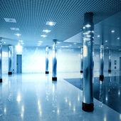 Modern hall inside — Stock Photo