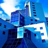 反射玻璃墙 — 图库照片