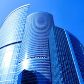 New skyscrapers business — Stock Photo