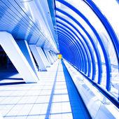 Couloir violet en tube — Photo