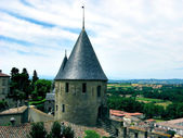 Carcassonne castle, France — Stock Photo