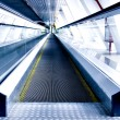 Moving escalator in the office hall — Stock Photo #1431207