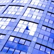 Abstract crop of modern office - Foto de Stock