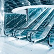 Stock Photo: Futuristic escalator
