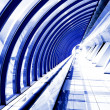 Royalty-Free Stock Photo: Modern futuristic corridor