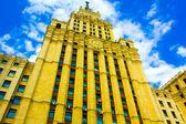 Old historical building skyscraper — Stock Photo