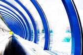Glaskorridor — Stockfoto
