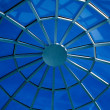 Blue abstract ceiling in office — Stock Photo #1454410