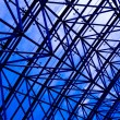 Blue abstract ceiling in office — Stock Photo #1456143