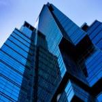 Futuristic building skyscraper — Stock Photo #1456318