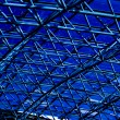 Blue abstract ceiling in office — Stock Photo #1485911