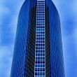 New alone skyscraper business center — Foto Stock