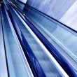 Moving escalator in the office hall — Stock Photo #1487228