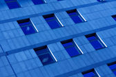 Dark blue abstract crop — Stock Photo