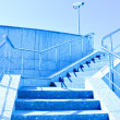 Staircase to blue sky — Photo