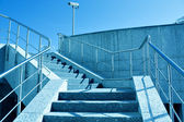 Staircase to blue sky — Stock Photo
