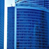 Rottami astratto blu brillante — Foto Stock