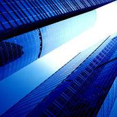 Futuristic skyscrapers — Stock Photo