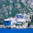 Holy monastery of Athos — Stock Photo
