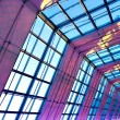 Violet illuminated ceiling indoor — Stock Photo #2029923