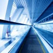 Fast moving escalator by motion — Stock Photo #2233810