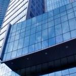 Modern geometric skyscrapers — Stock Photo #2233916