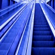 Moving escalator - Foto Stock
