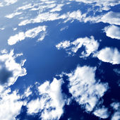 Abstract clouds in the blue sky — Stock Photo