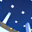 Modern ceiling in office center — Stock Photo #2634129