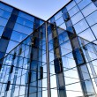 Modern building with reflections — Stock Photo #2635185