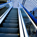 Empty escalator — Stock Photo #2635596