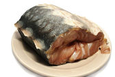 Meat fish sturgeon. — Stock Photo