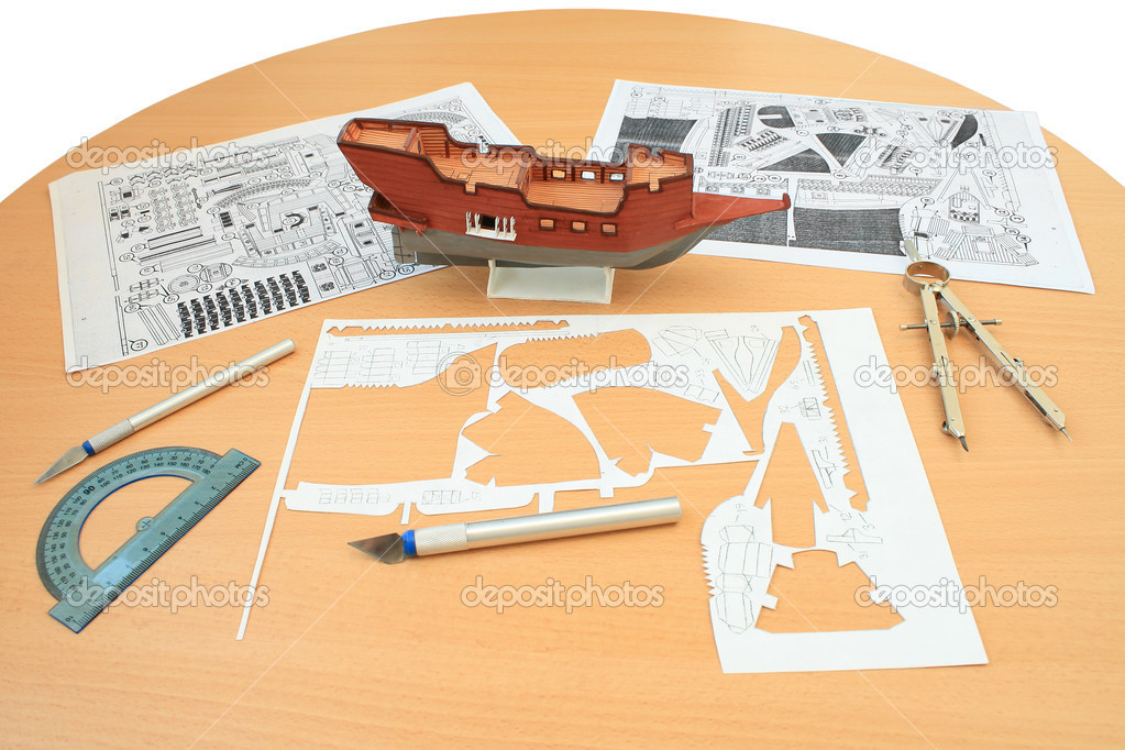 Макеты из бумаги своими руками корабль