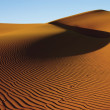 Stock Photo: Golden sand dune