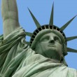 Statue of liberty and arm - Stock Photo