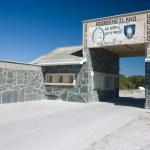 Robben Island entrance — Stock Photo