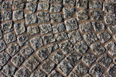 Church cobblestones — Stock Photo