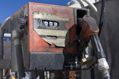 Oil fuel pump — Stock Photo