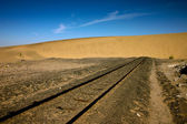 End of the line — Stock Photo