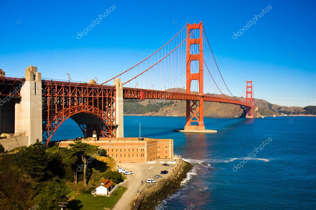 View of the golden gate bridge san francisco  Stock Photo #1430486